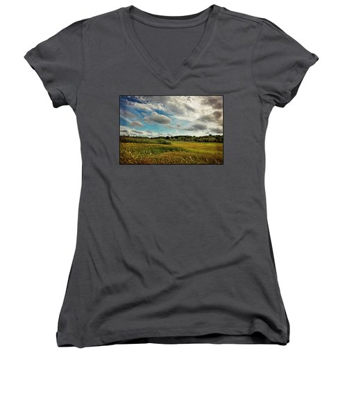 Cape Cod Marsh 2 Women's V-Neck