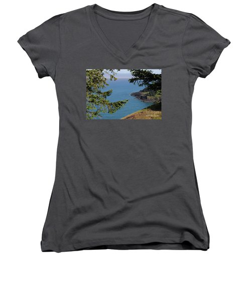 Cape Foulweather  Women's V-Neck (Athletic Fit)