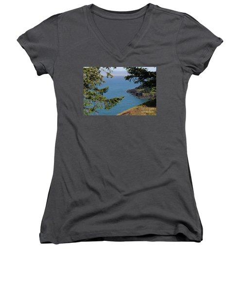 Cape Foulweather  Women's V-Neck T-Shirt