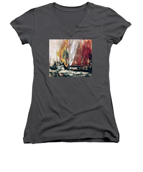 Cape Of Good Hope Women's V-Neck
