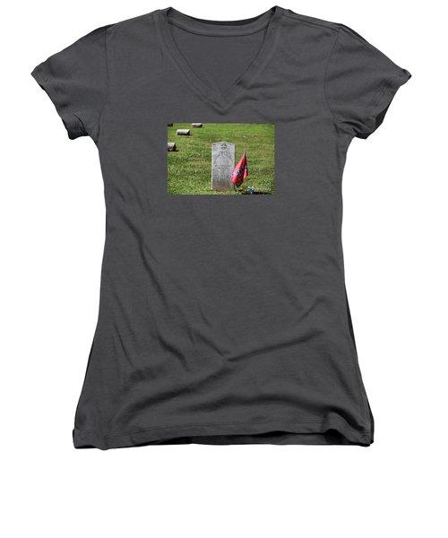 Capt Quantrill Women's V-Neck T-Shirt