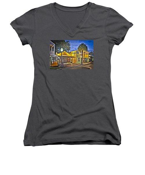 Capt. Tonys Women's V-Neck T-Shirt