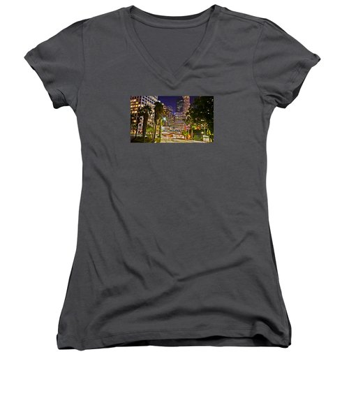 Captive In The City Light Embrace Women's V-Neck (Athletic Fit)