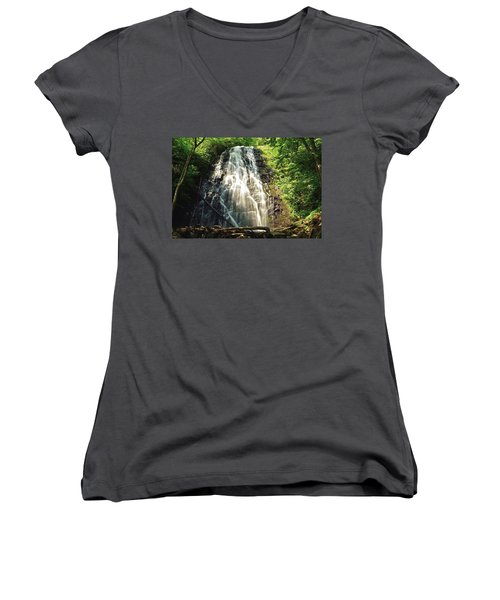 Carolina's Crabtree Falls Women's V-Neck T-Shirt