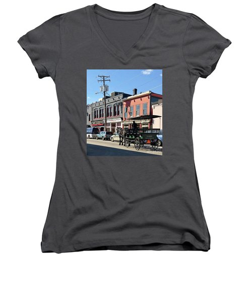 Carriage Women's V-Neck (Athletic Fit)