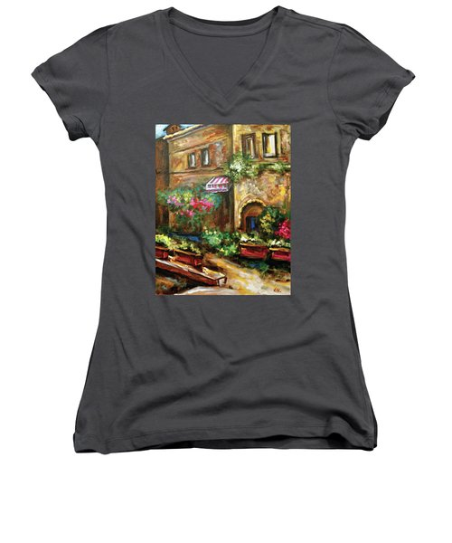 Casa Bella Women's V-Neck T-Shirt