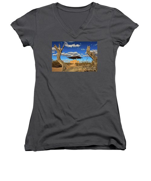 Casa Grande Ruins National Monument Women's V-Neck