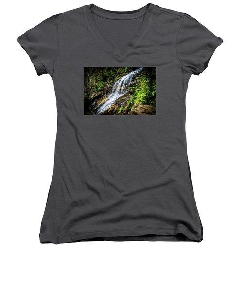 Cascade Falls Women's V-Neck T-Shirt