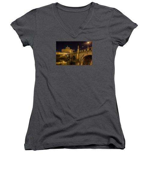 Castel Sant'angelo Women's V-Neck T-Shirt