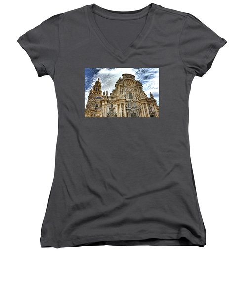 Catedral De Murcia Women's V-Neck T-Shirt