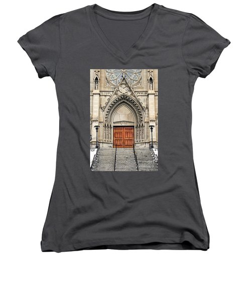 Cathedral Of St Helena Women's V-Neck