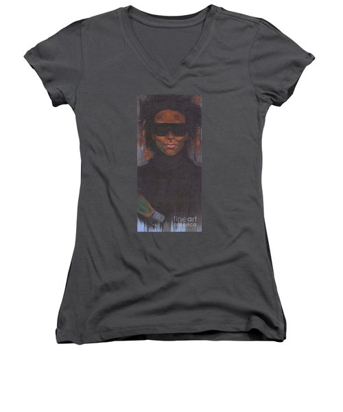 Cause I Said So Women's V-Neck (Athletic Fit)