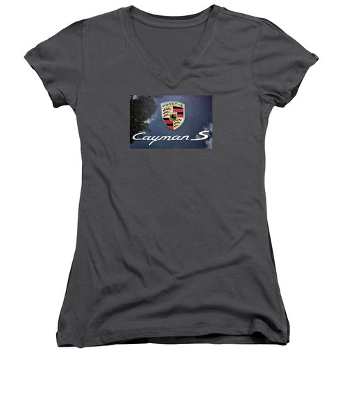 Cayman S Women's V-Neck T-Shirt