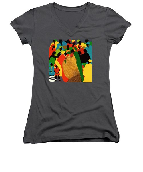 Celebration Women's V-Neck (Athletic Fit)