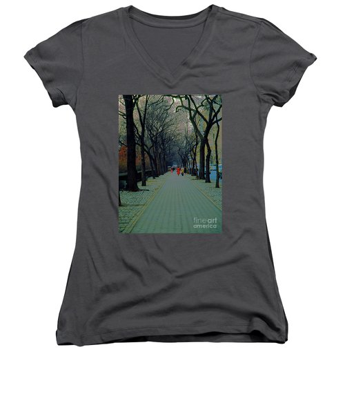 Central Park East Women's V-Neck