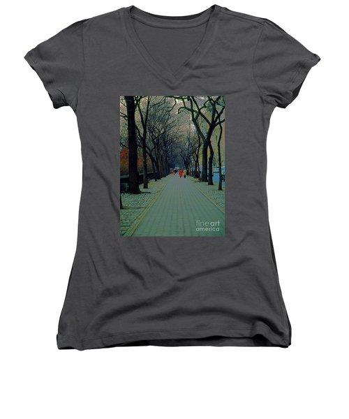 Central Park East Women's V-Neck