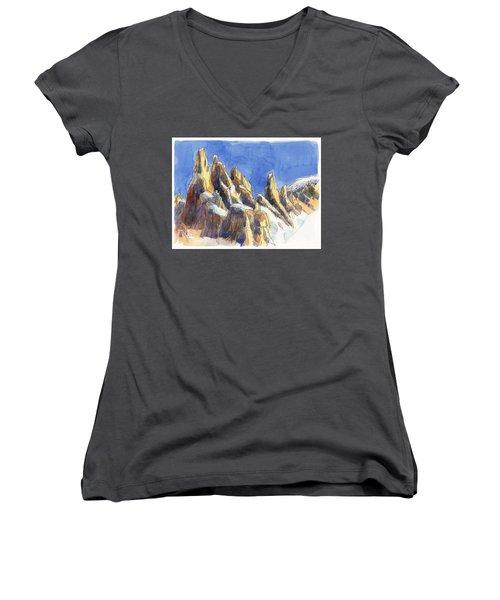 Cerro Torre, Patagonia Women's V-Neck