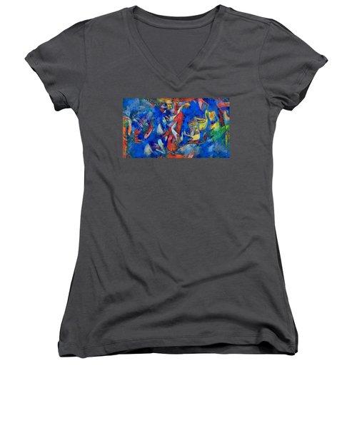 Chagall's Dream Women's V-Neck