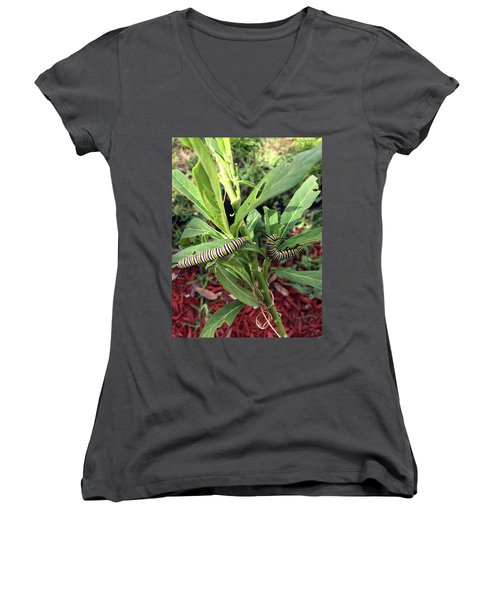 Change Is Coming Women's V-Neck (Athletic Fit)