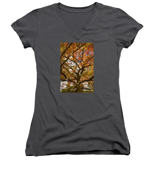 Changing Of The Oak Women's V-Neck