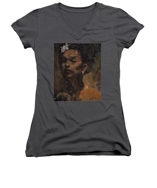 Chanteuse Women's V-Neck (Athletic Fit)