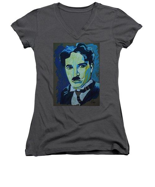 Chaplin Women's V-Neck T-Shirt