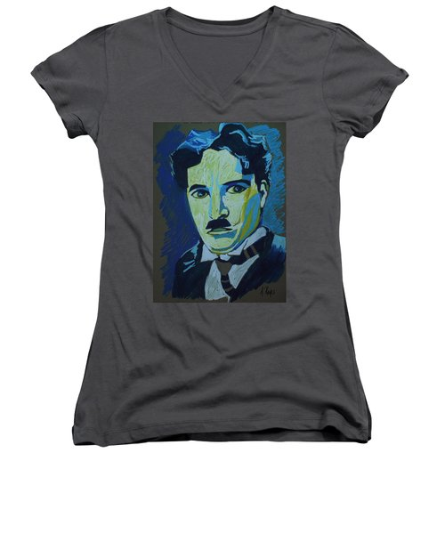 Chaplin Women's V-Neck (Athletic Fit)