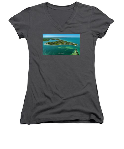 Chapoquoit Island Women's V-Neck