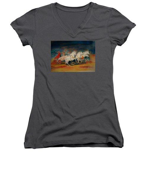 Chariot Women's V-Neck T-Shirt