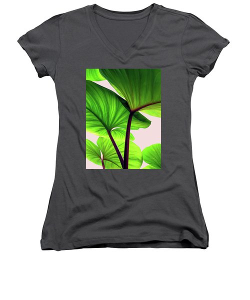 Charming Sequence Women's V-Neck T-Shirt (Junior Cut) by Uma Gokhale