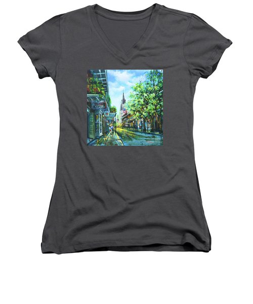 Chartres Afternoon Women's V-Neck (Athletic Fit)