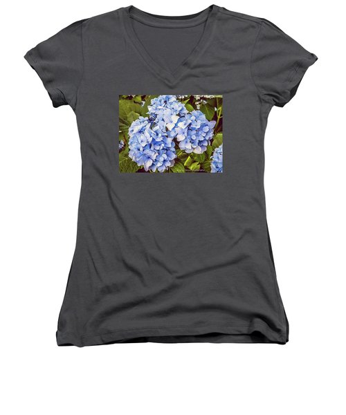 Chase Away The Blues Women's V-Neck (Athletic Fit)