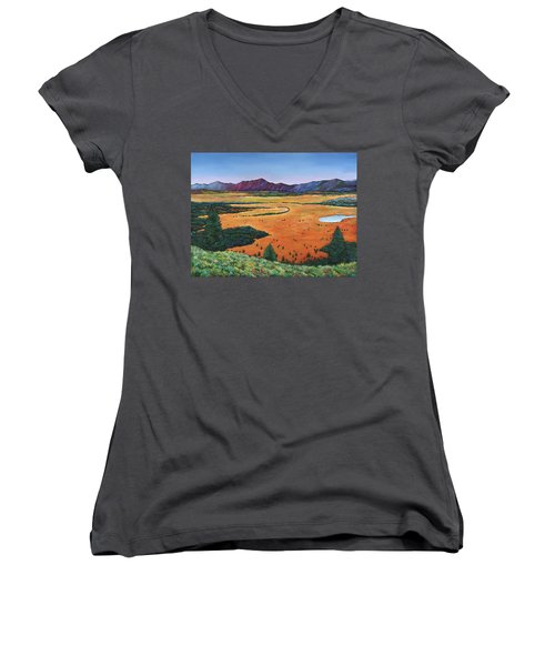 Chasing Heaven Women's V-Neck (Athletic Fit)