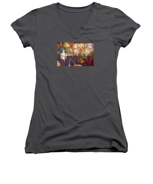 Chateau Lafite Rothschild Women's V-Neck T-Shirt