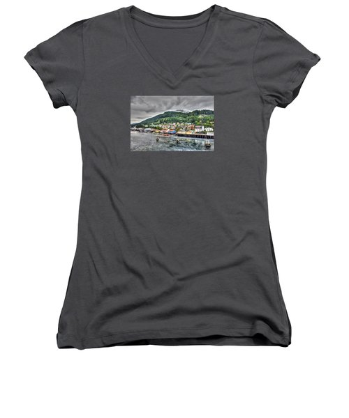 Cheery Women's V-Neck (Athletic Fit)