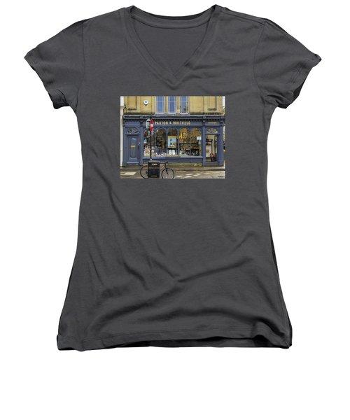 Cheesemonger Shop Women's V-Neck