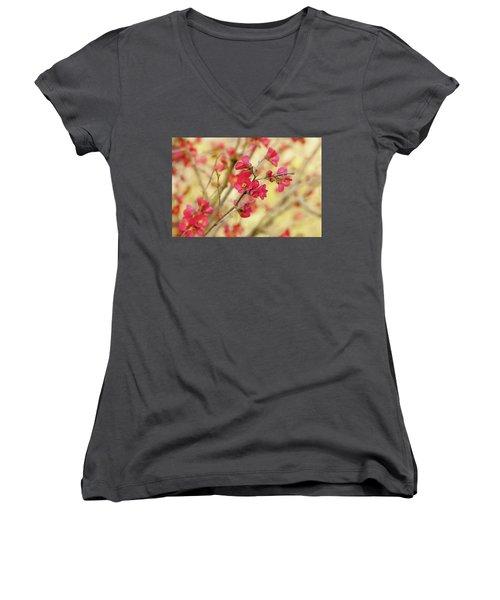 Cherry Blossom  Women's V-Neck