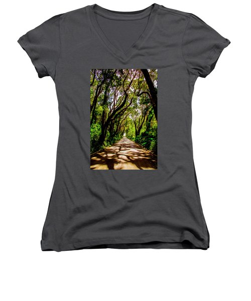 Cherry Tree Hill Women's V-Neck