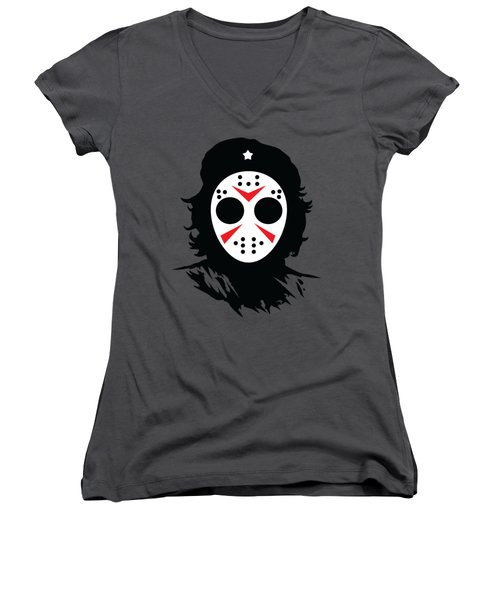 Che's Halloween Women's V-Neck (Athletic Fit)
