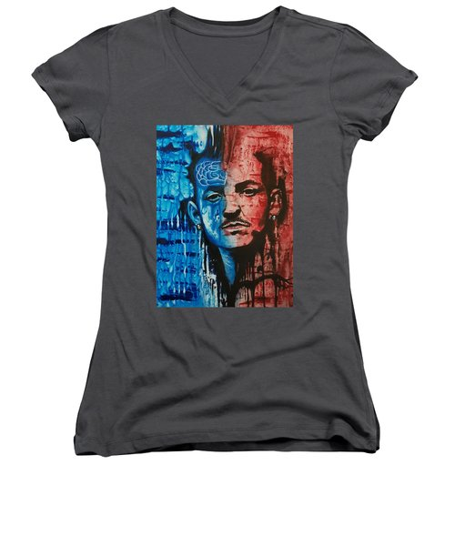 Heavy Thoughts Women's V-Neck