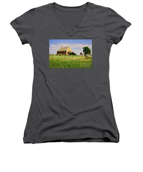Chesterfield Church Women's V-Neck T-Shirt