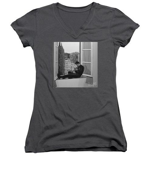 Chet Baker Women's V-Neck