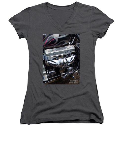 Chevrolet 400 Hp  Women's V-Neck T-Shirt