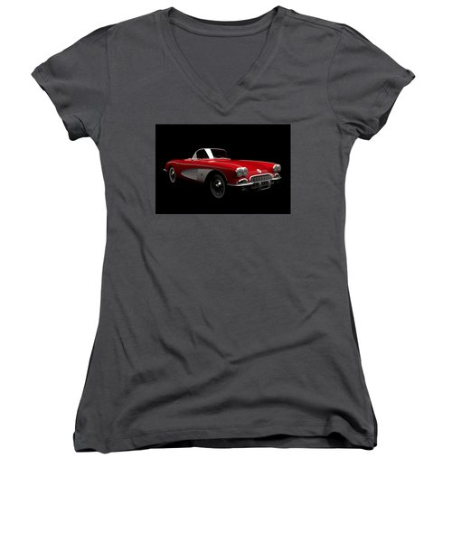Chevrolet Corvette C1 Women's V-Neck