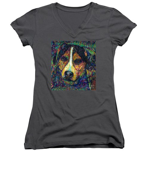 Chewie Version 1 Women's V-Neck (Athletic Fit)