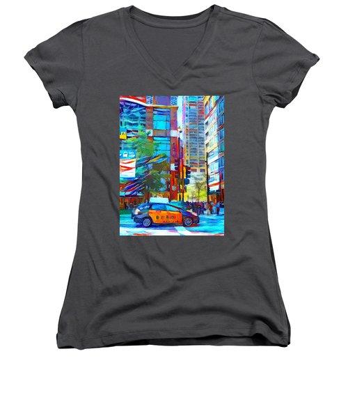 Chicago Colors 1 Women's V-Neck T-Shirt