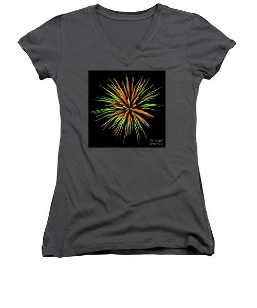 Chihuly Starburst Women's V-Neck T-Shirt