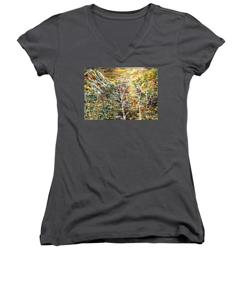 Children Of The Night Women's V-Neck T-Shirt