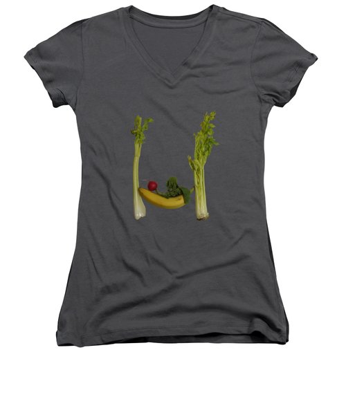Chillaxing Women's V-Neck (Athletic Fit)