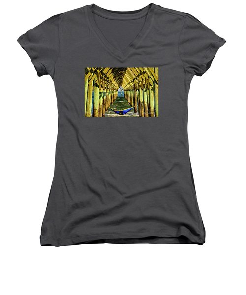 Chillin Women's V-Neck (Athletic Fit)